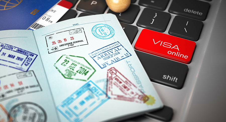 Visa application and skills assessment